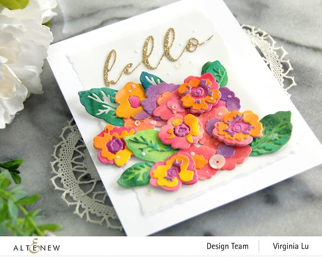Altenew-CAF Primrose Blossom-Artists' Watercolor 24 Pan Set-Gilded Card Stock -002