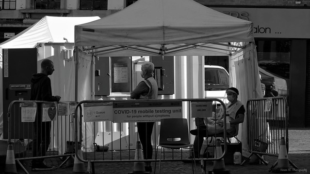 Community Testing. Trinity Square (02). Sept 2021