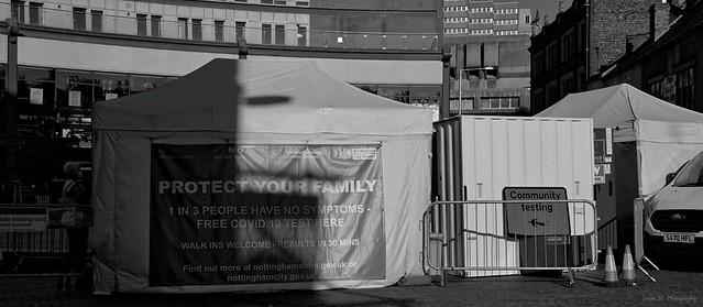 Community Testing. Trinity Square (01). Sept 2021