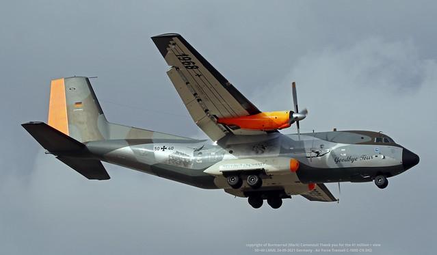 50+40 LMML 24-09-2021 Germany - Air Force Transall C-160D CN D62