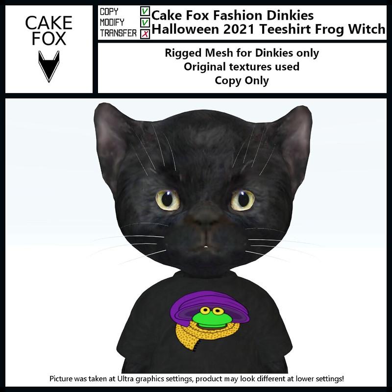 "<a href=""https://pieni.art/new-cake-fox-halloween-teeshirts/"" rel=""noreferrer nofollow"">Pieni.art blog post</a> ""New Cake Fox Halloween Teeshirts"" with pics, details and links."