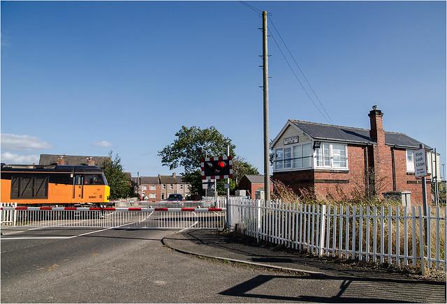 Bedlington North signal box.