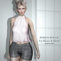 POISON ROUGE Liz Outfit @COSMOPOLITAN