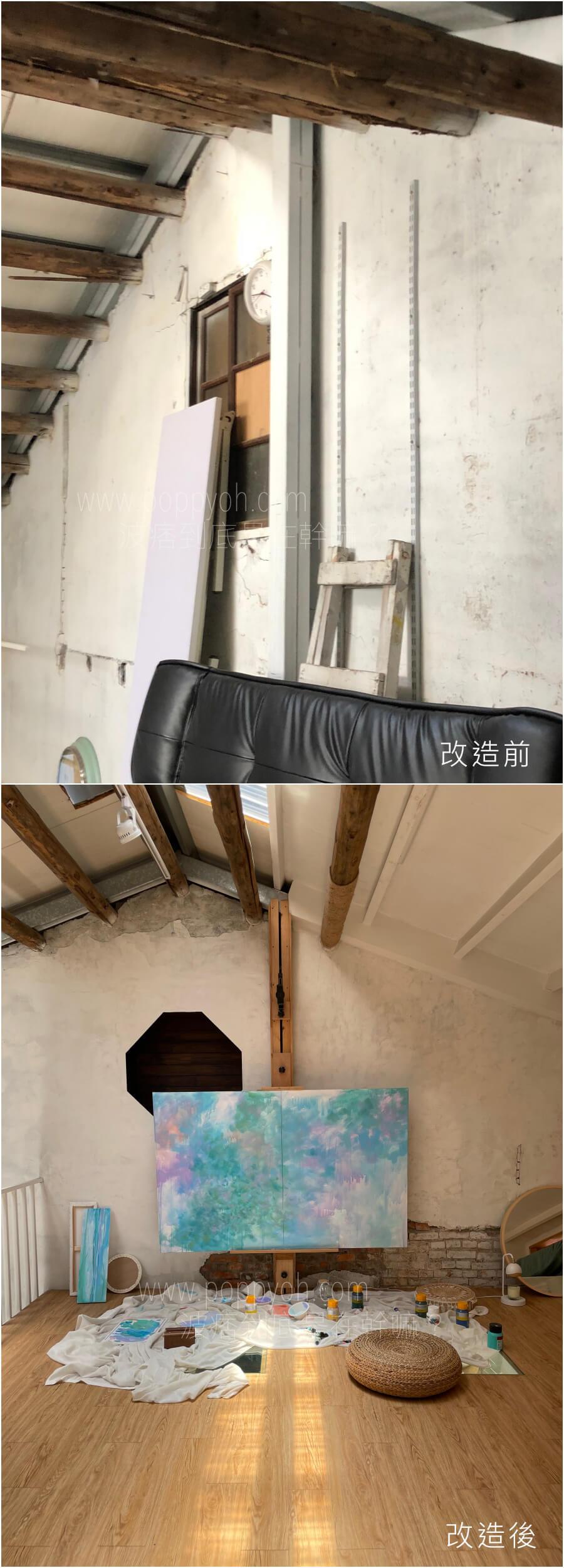 老屋 窗戶 改造 櫥櫃 收納