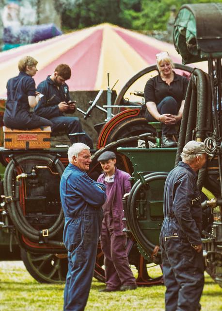 Steam Engine Crews