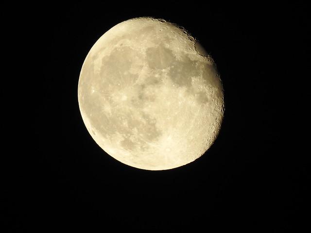 waning gibbous Moon Phase 91% Meudon 2021 september 23