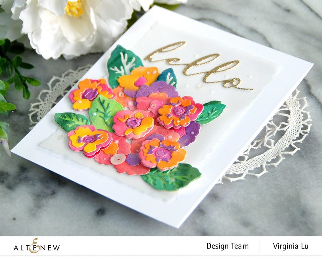 Altenew-CAF Primrose Blossom-Artists' Watercolor 24 Pan Set-Gilded Card Stock -003