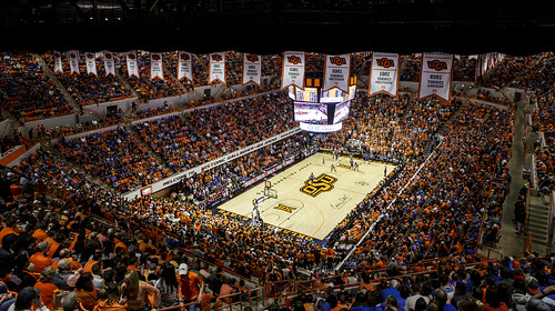 Gallagher-Iba Arena — March 4, 2017.