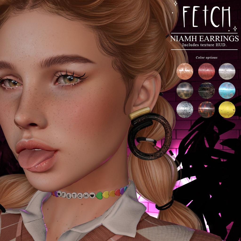 [Fetch] Niamh Earrings @ Saturday Sale!