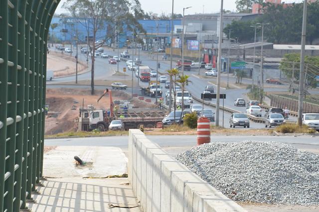 Obras no Viaduto do Beatriz - 24/09/2021