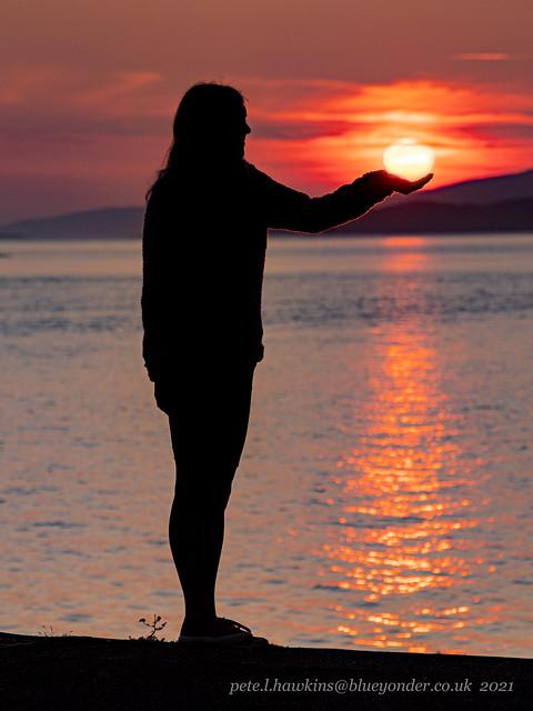 IMGP2433 Oban sunset 17th July 2021