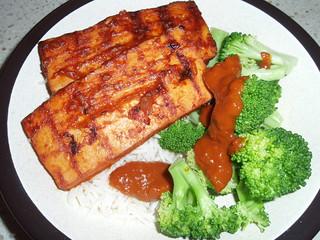 Grilled Tofu with Tamarind Glaze