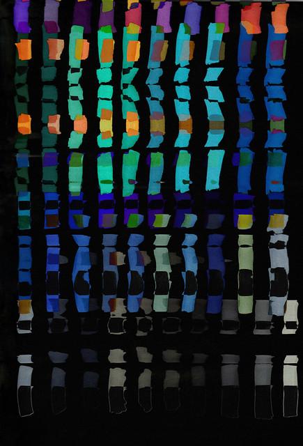 glitched art