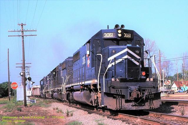 MP 3061 e, Prescott, ARK. 7-27-1983