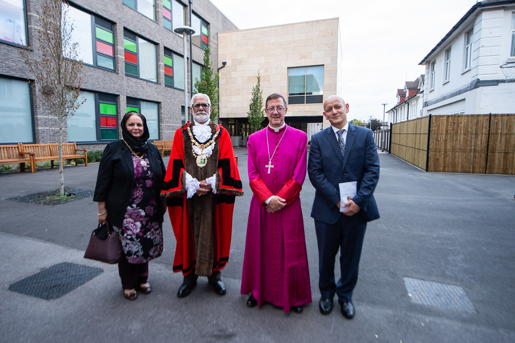 Mass Celebrated by Bishop John Sherrington on the Occasion of the Blessing and Opening of the New Building at Salvatorian College in London