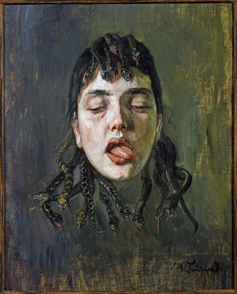 Wilhelm Trubner - The Gorgon, 1891