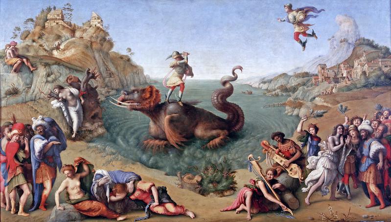 Piero di Cosimo - Perseus Rescuing Andromeda, 1510-13