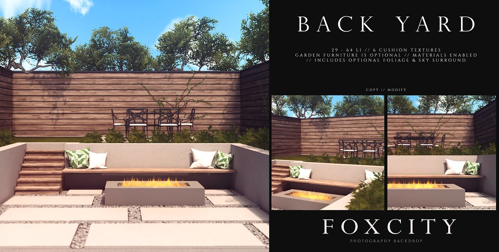 FOXCITY. Photo Booth – Back Yard