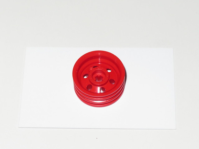 Genuine red LEGO 56904 Wheel 30mm D. x 14mm (Test Mold)