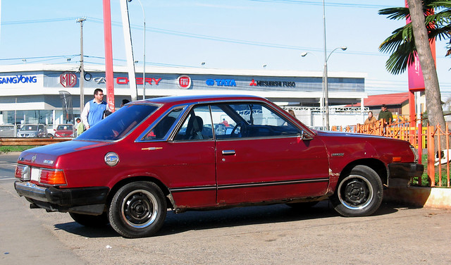 Subaru 1800 DL Coupe 1982