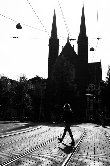 Amsterdam silhouet.