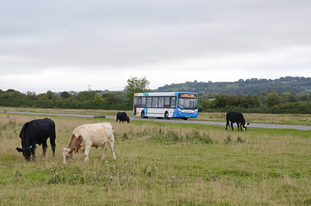 Stagecoach SF10 BZL, Chipping Sodbury Common