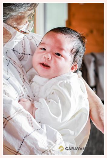 生後1か月の赤ちゃん