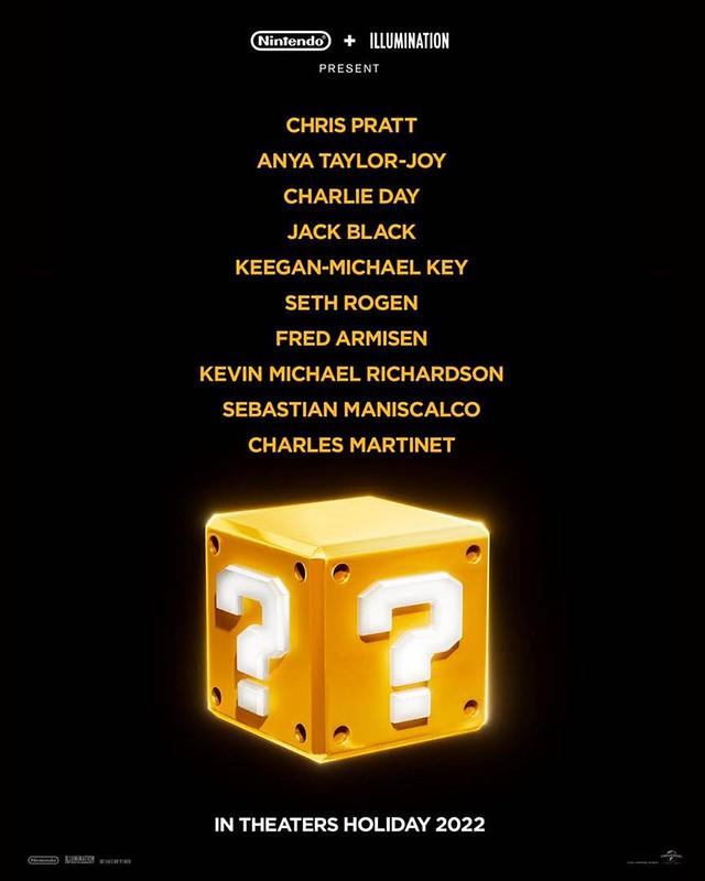 Chris Pratt Bawa Watak Mario Dalam Filem Super Mario Bros
