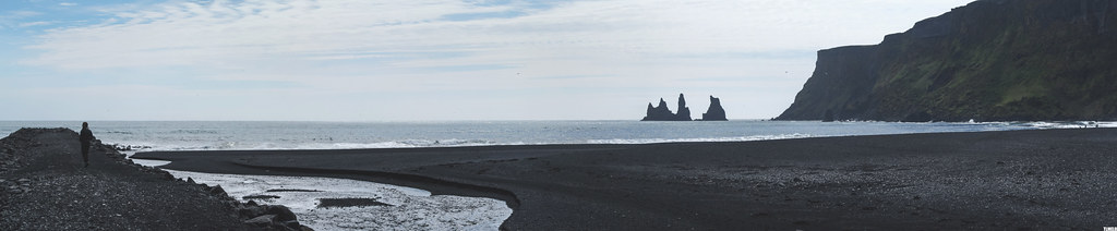Black Reynisfjara Beach - Iceland