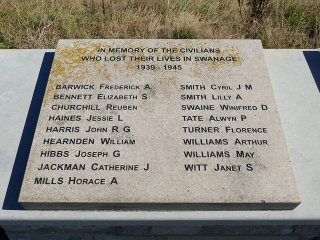Swanage Civilian Casualties