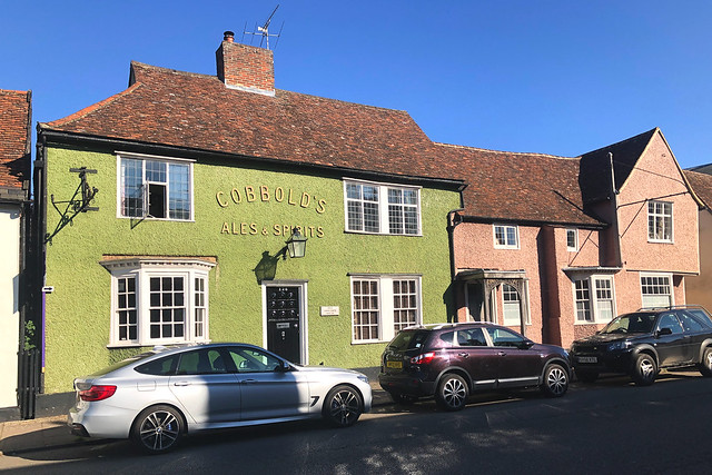 Hadleigh High Street / Old Shoulder House / The Shoulder of Mutton
