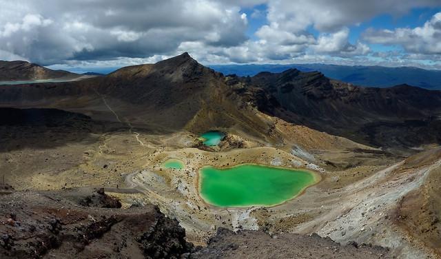 Tongariro Crossing panorama