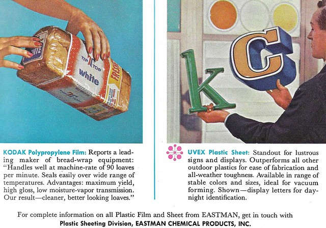 Print Ad, Eastman Chemical Products, Inc., August 1963 Fortune Magazine