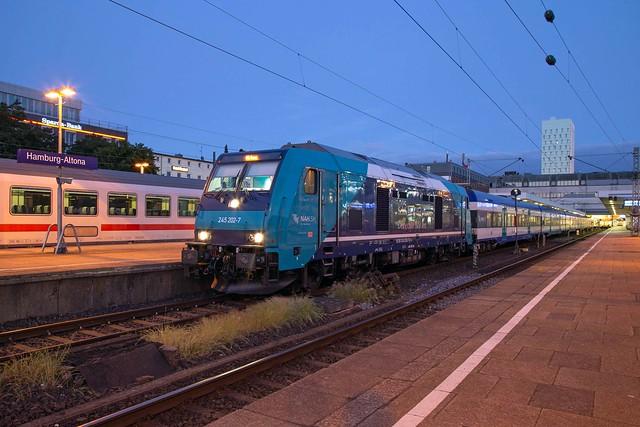 DB Regio 245 202 Hamburg Altona