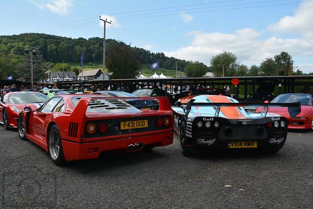 Ferrari F-40 & Ultima GTR