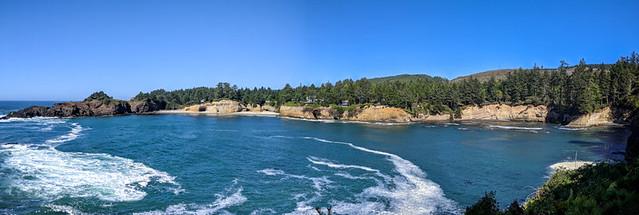 Whale Cove vista