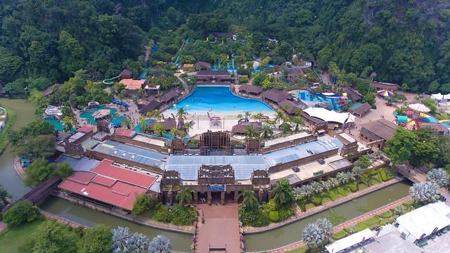 9. Sunway Lost World Of Tambun Aerial View