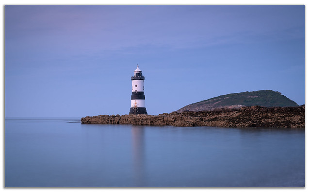 Penmon Lighthouse.