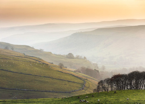 Last of the light. Yorkshire Dales
