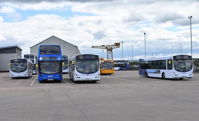 First Glasgow Scotstoun Depot