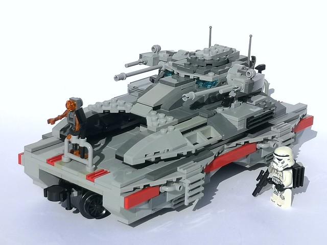 Tank Transporter Rail Car