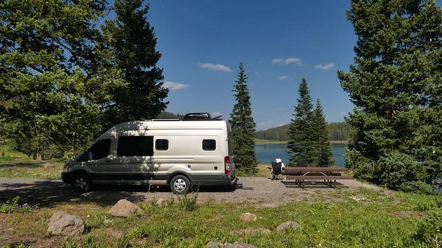 CO - Grand Mesa - Ward Lake Campground Site 26 - Sally and Betty