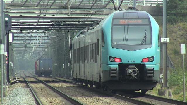Eurobahn E.T. 4.06 & Railexperts 9902, Deurningen