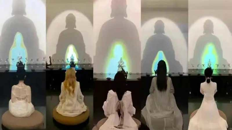 Media Sosial Tiongkok Larang Influencer Memanfaatkan Agama Buddha