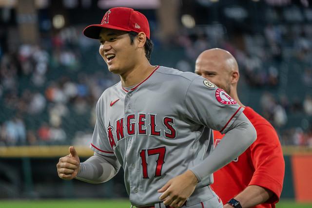 Shohei Ohtani, Los Angeles Angels of Anaheim