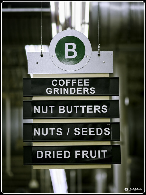 Nuts, Is This Your Aisle?