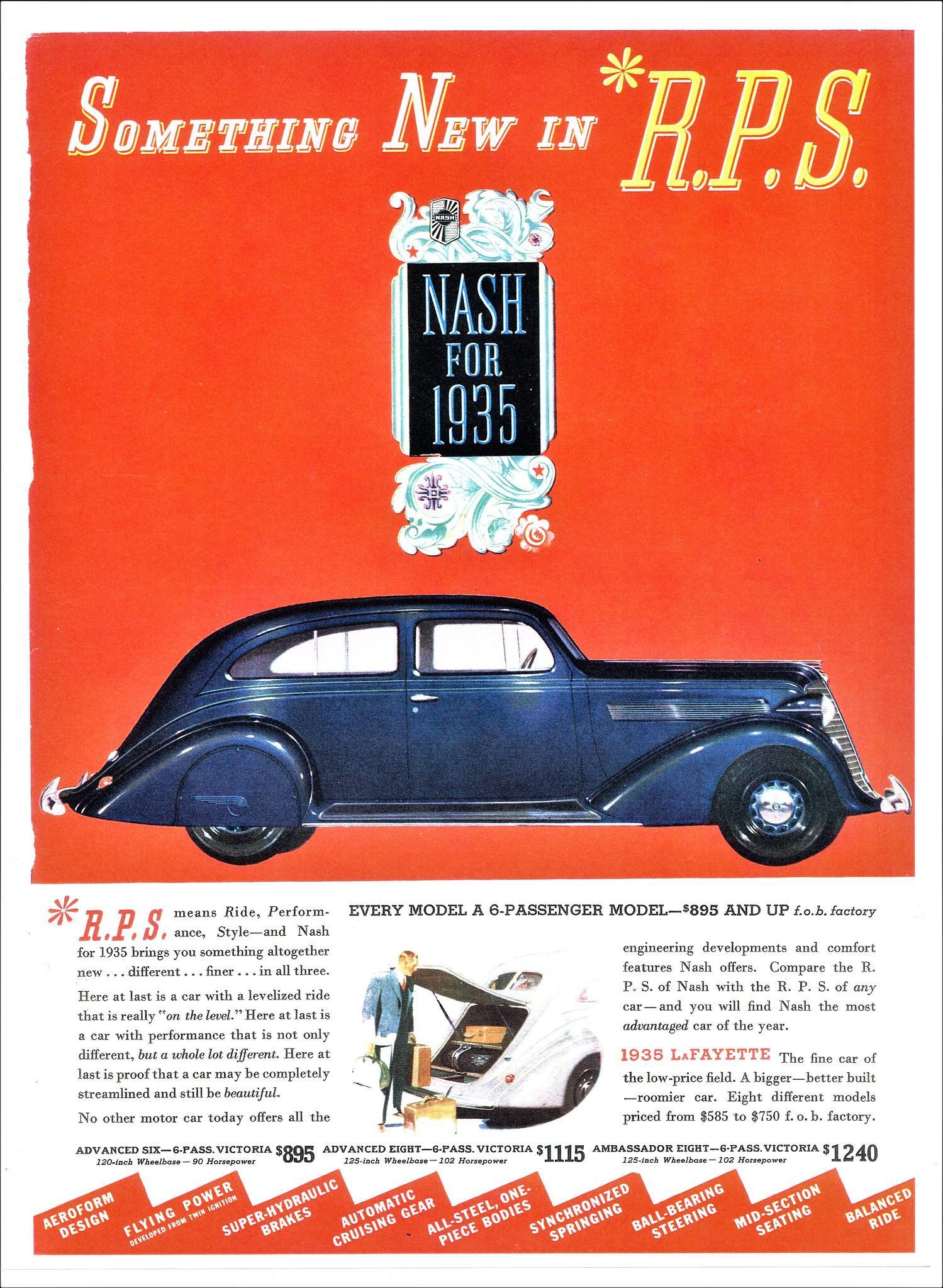 1935 Nash Advanced Eight Victoria