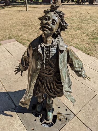 Ramona @ Beverly Cleary Sculpture Garden