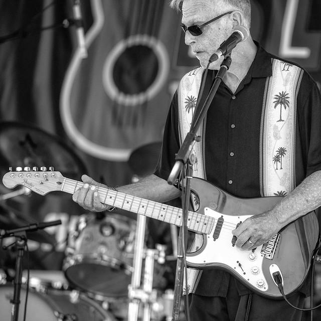 SD Blues Festival 2021: Back Track Blues Band (Little Johnny Walker on Rhythm Guitar
