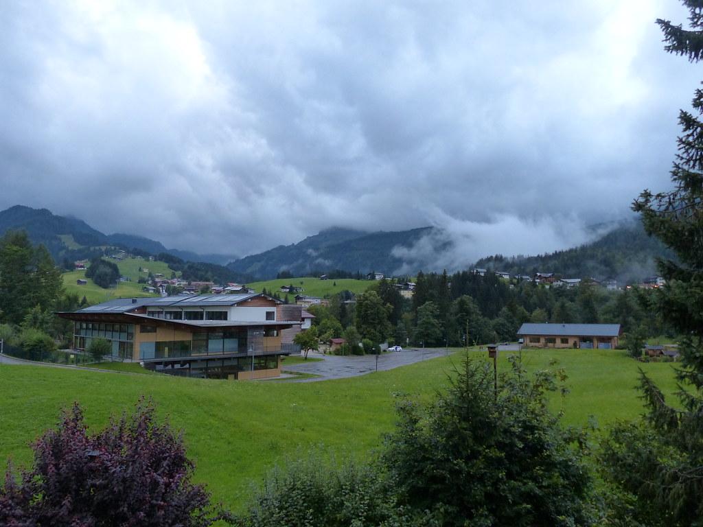 Dark and Rainy Evening At Riezlern